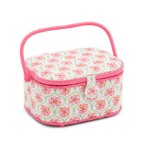 Blossoming Trellis  Large Oval Sewing Box By Hobby Gift