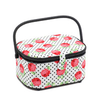Scarlette  Large Oval Sewing Box By Hobby Gift