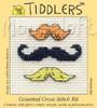 Moustaches Cross Stitch Kit by Mouse Loft
