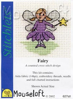 Fairy Cross Stitch Kit by Mouse Loft