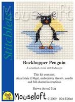 Rockhopper Penguin Cross Stitch Kit by Mouse Loft