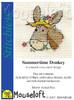 Summertime Donkey Cross Stitch Kit by Mouse Loft