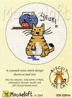 Yeuk! Cross Stitch Kit by Mouse Loft