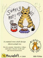Surely Not Cross Stitch Kit by Mouse Loft
