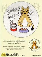 Surely Not Cross Stitch Kit by Mouse Loft