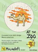 Camel Cross Stitch Kit by Mouse Loft