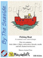 Fishing Boat Cross Stitch Kit by Mouse Loft