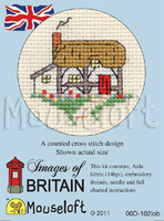 Cottage Cross Stitch Kit by Mouse Loft