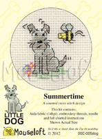 Summertime Cross Stitch Kit by Mouse Loft