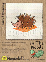 Harriet Hedgehog Cross Stitch Kit by Mouse Loft