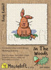 Rosie Rabbit Cross Stitch Kit by Mouse Loft