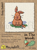 Rosie Rabbit Cross Stitch Kit by Mouse Loft