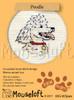 Poodle Cross Stitch Kit by Mouse Loft