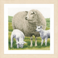 Counted Cross Stitch Kit: Sheep (Aida) By Lanarte