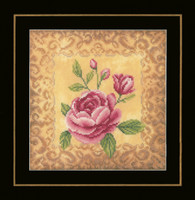 Counted Cross Stitch Kit: Roses  By Lanarte