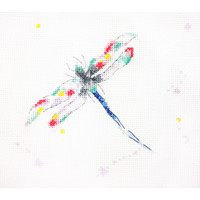 Dragonfly Dreams Cross Stitch Kit by Charlotte Rennie