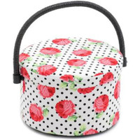 Scarlette  Round Sewing Box By Hobby Gift