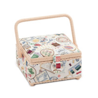Sewing Notions  Small Sewing Box By Hobby Gift