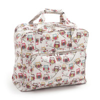 Matt PVC: Hoot  Sewing Machine Bag By Hobby Gift