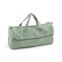 Mini Polka Dot - Moss  Knit Bag By Hobby Gift