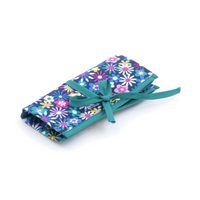 Flowers-a-Plenty  Crochet Hook Roll (Filled with Bamboo Hooks) By Hobby Gift