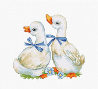 Geese Cross Stitch Kit By Luca S
