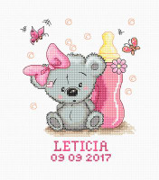 Leticia Sampler Cross Stitch Kit By Luca S