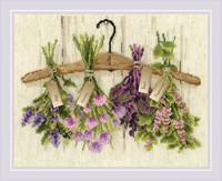 Herbs Cross Stitch Kit By Riolis