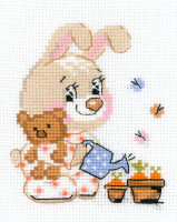 Little Garden Cross Stitch Kit By Riolis