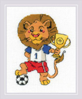 Champion Cross Stitch Kit By Riolis