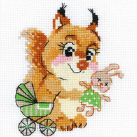 Playing House Cross Stitch Kit By Riolis