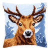 Deer Chunky Cross Stitch Cushion Kit By Vervaco