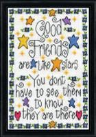 Good Friends Cross Stitch Kit By Design Works