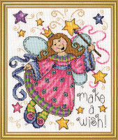 Make a Wish Cross Stitch Kit By Design Works
