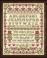 Stitcher Sampler Cross Stitch Kit By Design Works