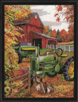 Tractor Cross Stitch Kit By Design Works