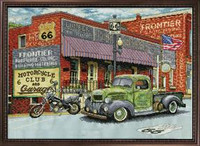 Frontier Hardware Cross Stitch Kit By Design Works