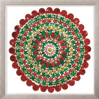 Zendazzle - Holiday Mandala EMBROIDERY KIT By Design Works