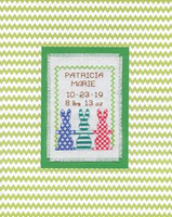 Bunny Baby Cross Stitch Kit By Design Works