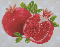 Good Fortune Pomegranates Craft Kit by Diamand Dotz