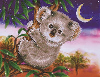 Koala Snack Craft Kit by Diamand Dotz