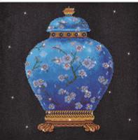 Blue Vase Craft Kit by Diamand Dotz