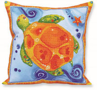 Turtle Journey Pillow Craft Kit by Diamand Dotz