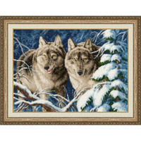 Predators Cross Stitch Kit By Golden Fleece