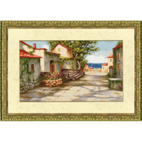 Road to the Sea Cross Stitch Kit By Golden Fleece