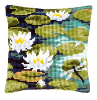Water Lilies Chunky Cross Stitch Kit
