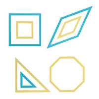 Patch work Templates Square and Octagon