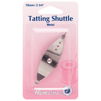 Tatting Shuttle: Metal: 70mm
