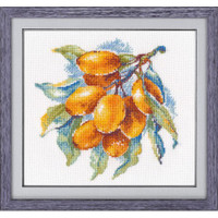 Amber Berry Cross Stitch Kit By Oven
