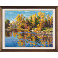Autumn Cross Stitch Kit by Oven